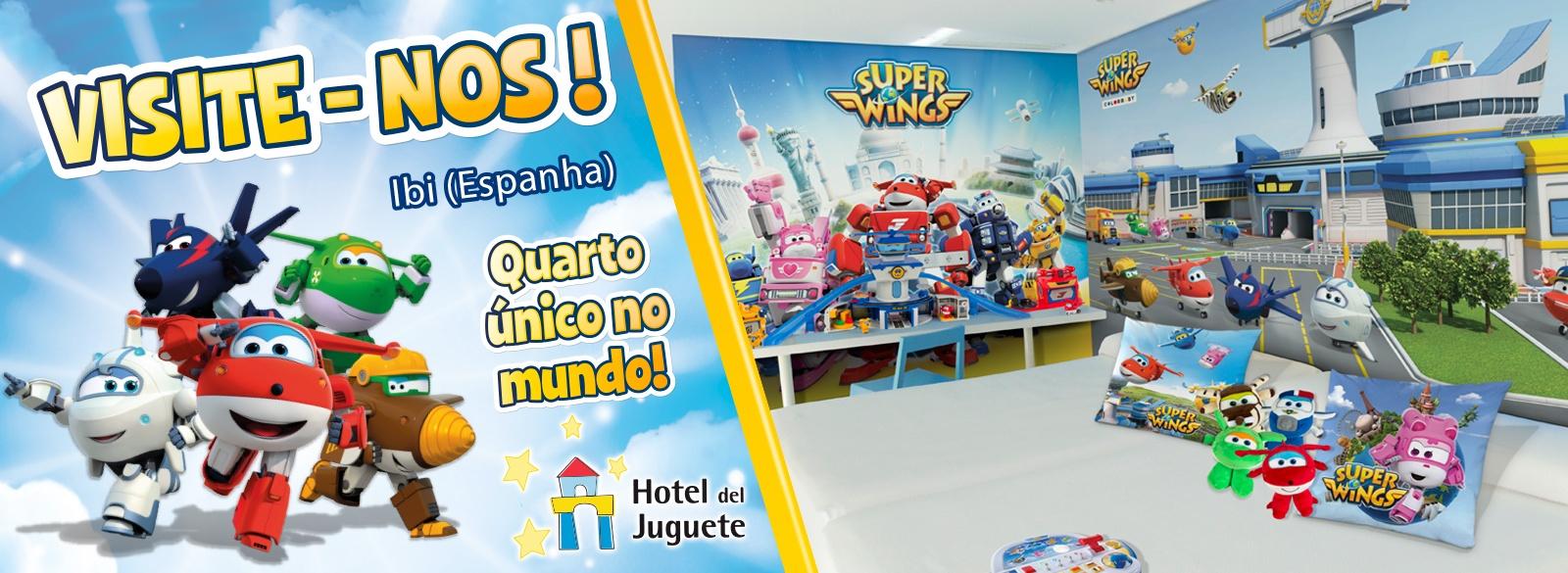 Super Wings Hotel Juguete