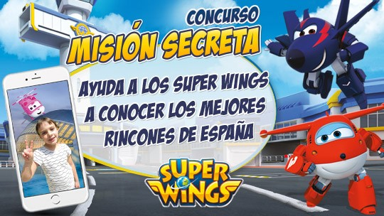 Concurso Clan Super Wings