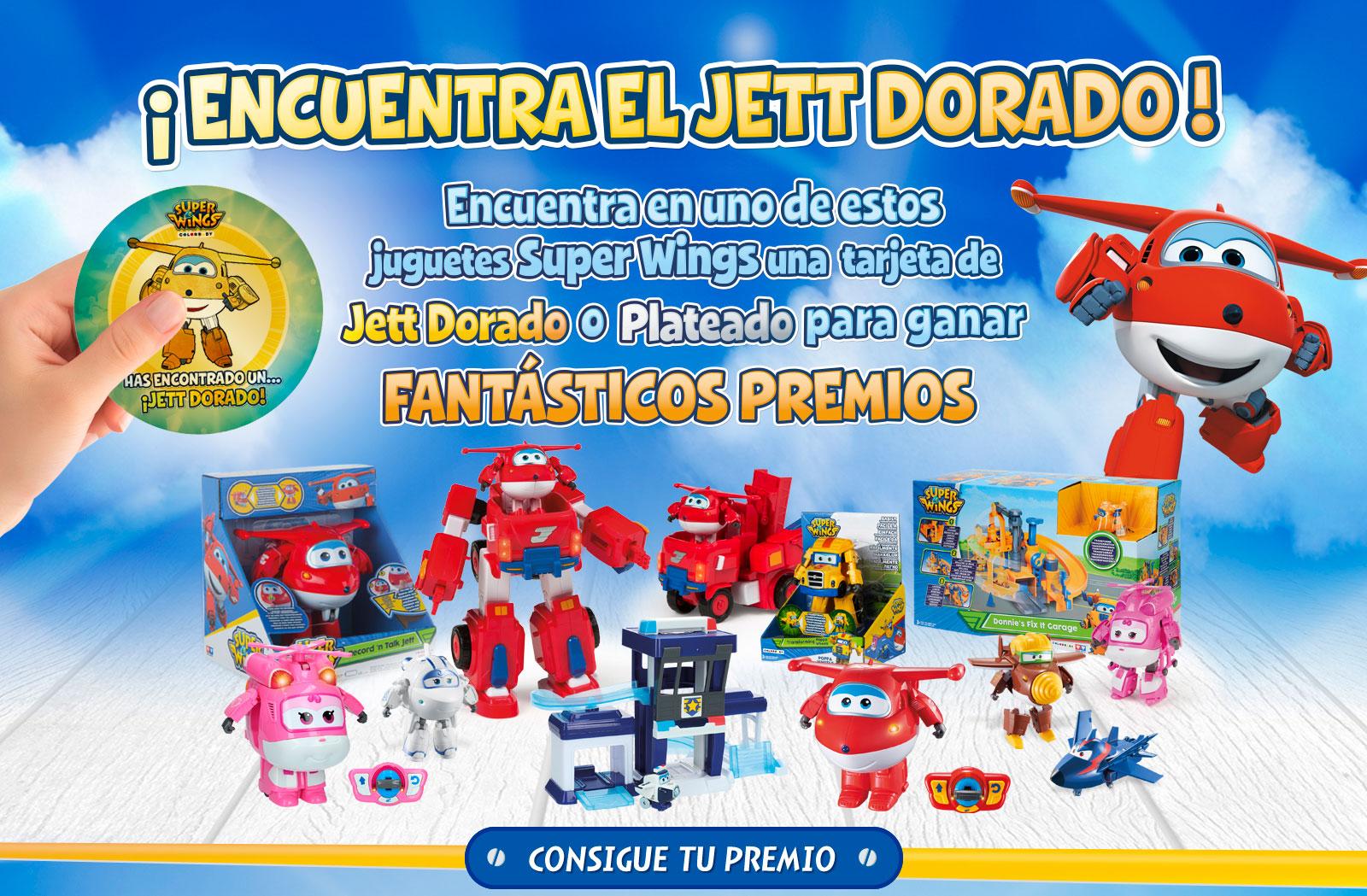 Concurso Jett Dorado Super Wings