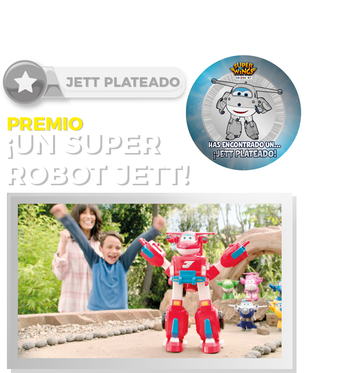 Concurso Jett Dorado Super Wings