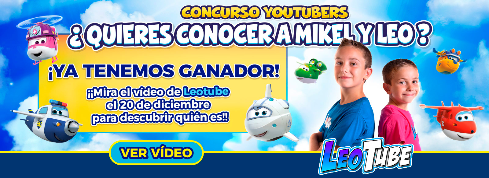 Concurso Leotube Superwings