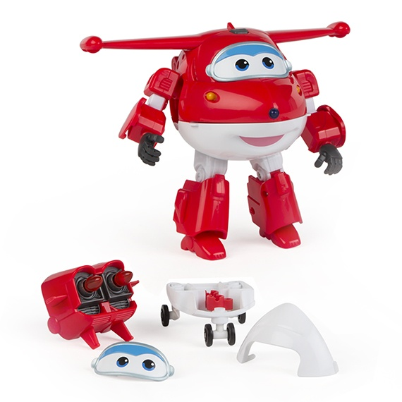 Figura Transformable N Talk Jett Super Wings
