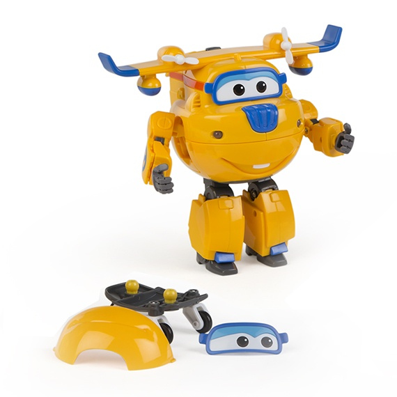 Figura Transformable N Talk Donnie Super Wings