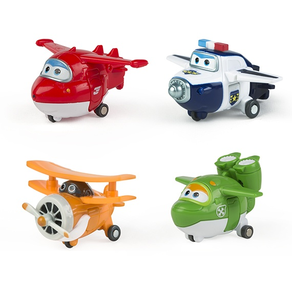 Pack 1 - Figuras Transformables Super Wings