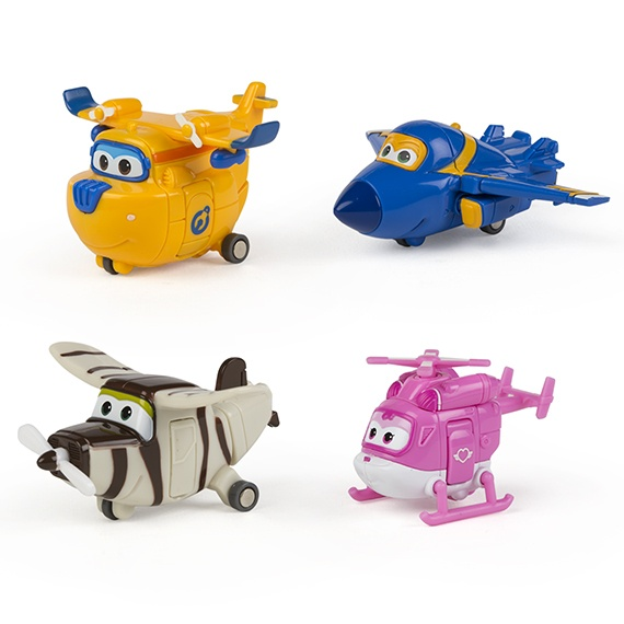 Pack 2 - Figuras Transformables Super Wings