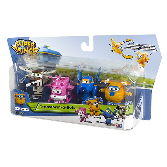 Pack 2 - Figuras Transformables