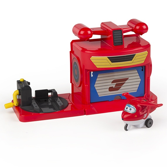 Hangar - La pista de Jett Super Wings