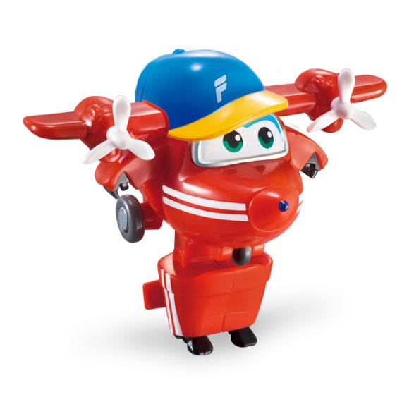 Figura Mini Transformable Flip Super Wings