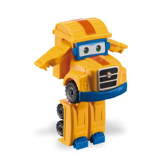 Figura Mini Transformable Poppa Super Wings