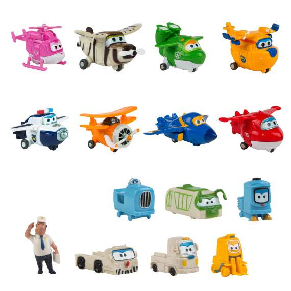 Pack 8+7 figuras Super Wings