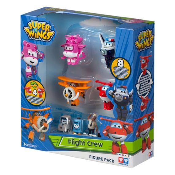Pack 4+4 figuras Super Wings