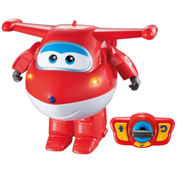 Radiocontrol Transformable Jett Super Wings
