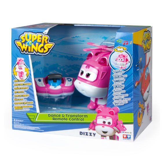 Radiocontrol Transformable Dizzy Super Wings