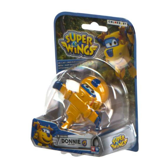 Figura de metal Donnie Super Wings