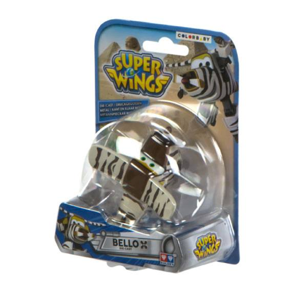 Figura de metal Bello Super Wings