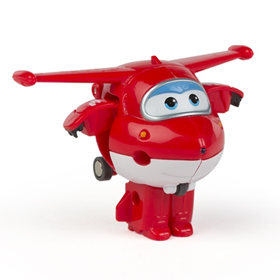 Figura Mini Transformable Jett Super Wings