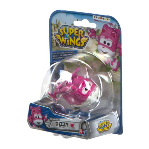 Figura de metal Dizzy Super Wings