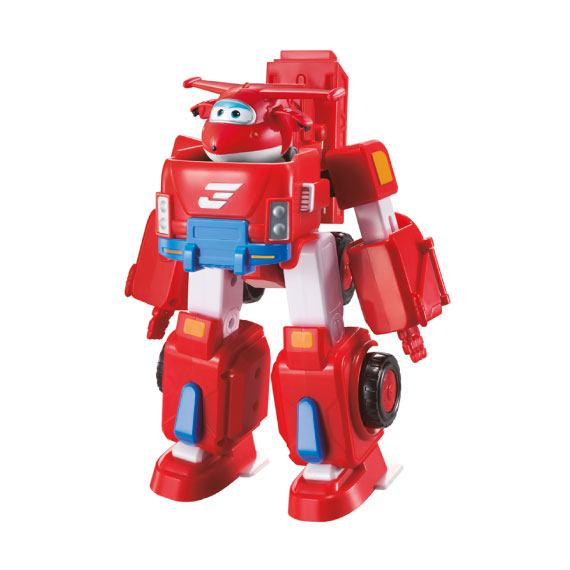 Super Wings + Vehículo Transformable - Jett Super Wings
