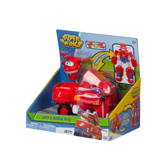 Super Wings + Vehículo Transformable - Jett