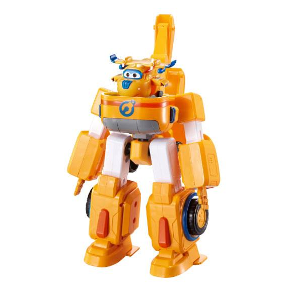 Super Wings + Vehículo Transformable - Donnie Super Wings