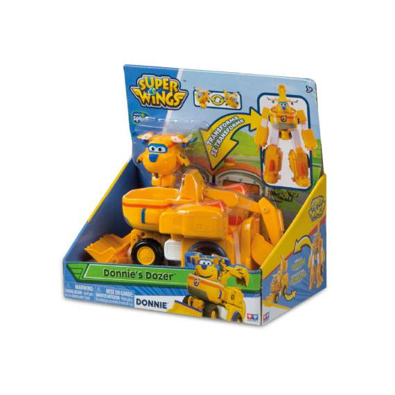 Super Wings + Vehículo Transformable - Donnie