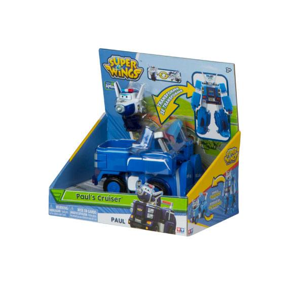 Super Wings + Vehículo Transformable - Paul