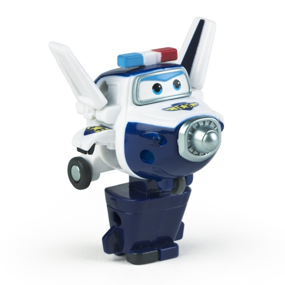 Figura Mini Transformable Paul Super Wings