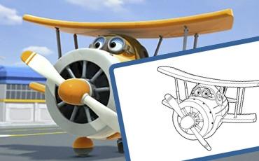 Manualidades Super Wings Albert