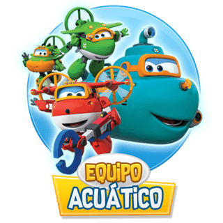 Equipo Acuatico Super Wings