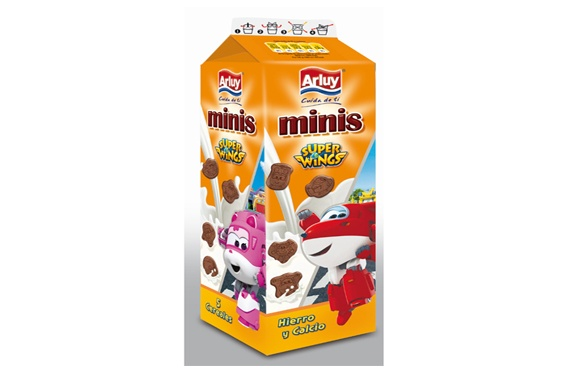 Minis Super Wings 275g