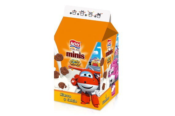 Minis Super Wings 135g