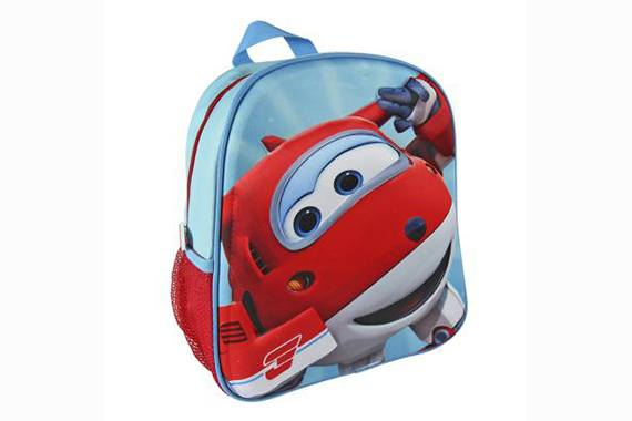 Mochila 3D Escolar 31 cm Super Wings