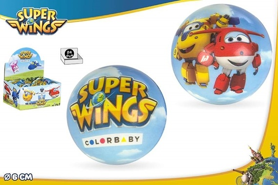 PELOTA ESPUMA 6 CM - SUPER WINGS