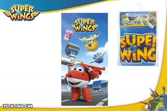 Toalha algodão 70X140 CM - SUPER WINGS Super Wings
