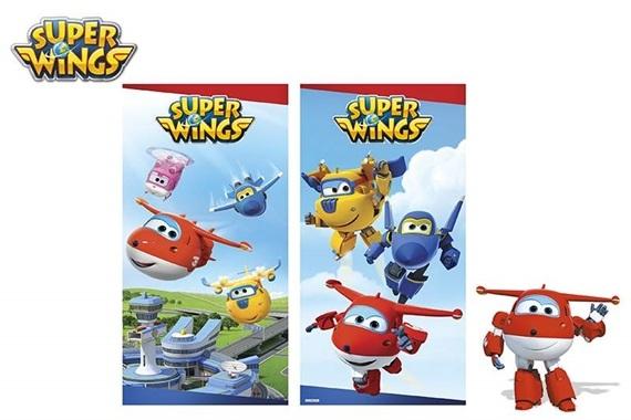 Toalha algodão 60X120 CM - SUPER WINGS Super Wings