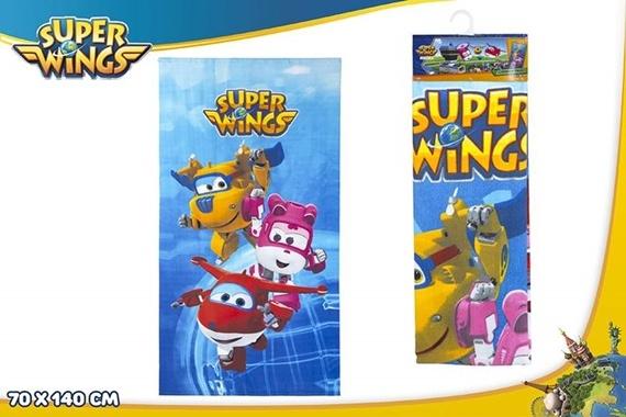 TOALLA MICROFIBRA 70X140 CM - Super Wings