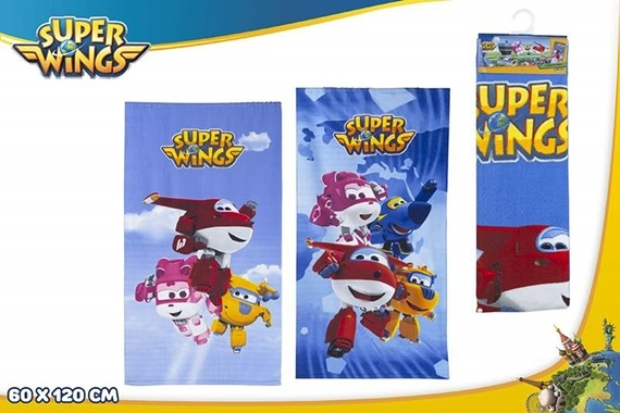 TOALLA MICROFIBRA 60X120 CM - Super Wings