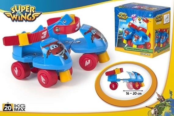 PATINES INFANTILES AJUSTABLES Super Wings