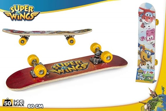 SKATEBOARD 60CM - Super Wings Super Wings
