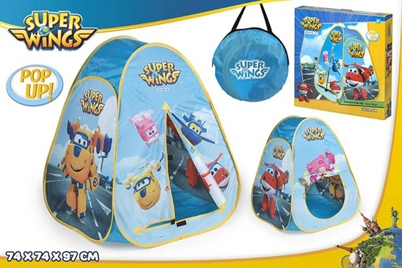 TIENDA POP UP 80X80X90 - SUPER WINGS Super Wings