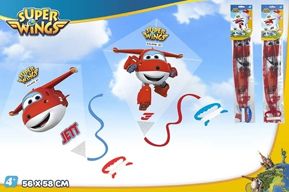 COMETA PLASTICO DIAMANTE SUPER WINGS