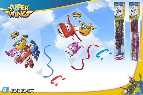 COMETA PLASTICO DIAMANTE SUPER WINGS Super Wings