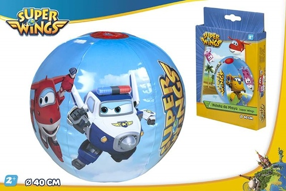 PELOTA PLAYA D40 CM - SUPERWIN Super Wings