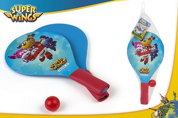 SET PALAS PLAYA MADERA C/MANGO Super Wings