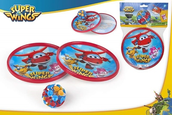 JUEGO CATCH BALL VENTOSAS - SUPER WINGS Super Wings