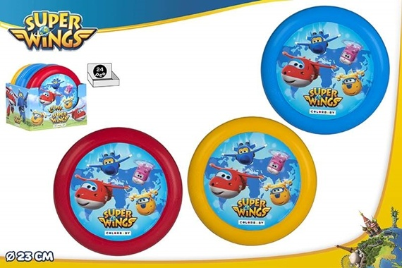 DISCO VOLADOR D23CM - SUPER WINGS Super Wings