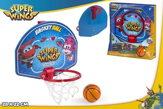 JOGO MINI BASKET 28X22 CM - SUPER WINGS Super Wings