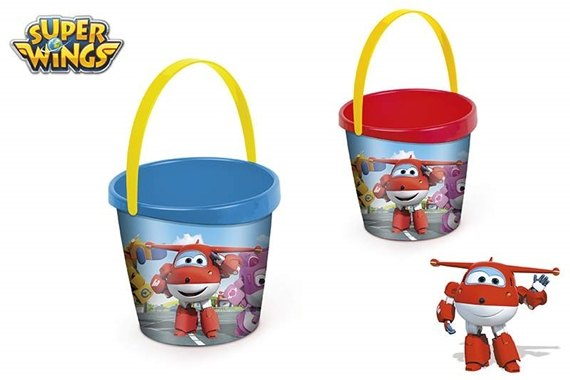 CUBO DE PLAYA D18CM - SUPER WINGS
