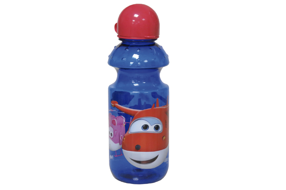 Botella Translúcida 500 ml SuperWings Super Wings