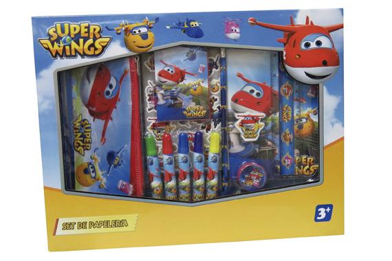 Set de Papelería 20 pcs. SuperWings